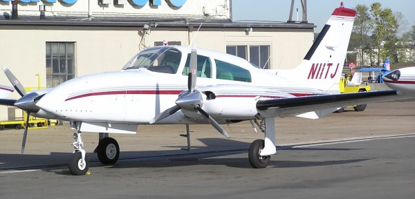Cessna 310 Лучший двухмоторный самолет для среднего класса