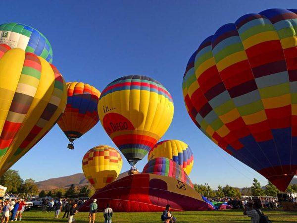 Совершить полет на воздушном шаре