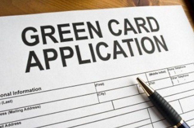 """Заявление на получение """"Green Card"""""""