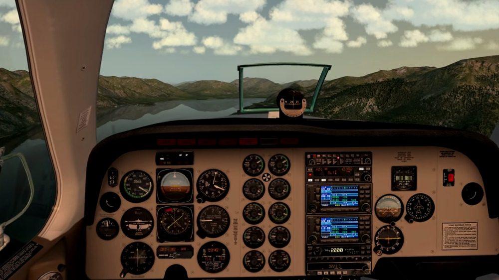 Cessna172 в Prepard3D