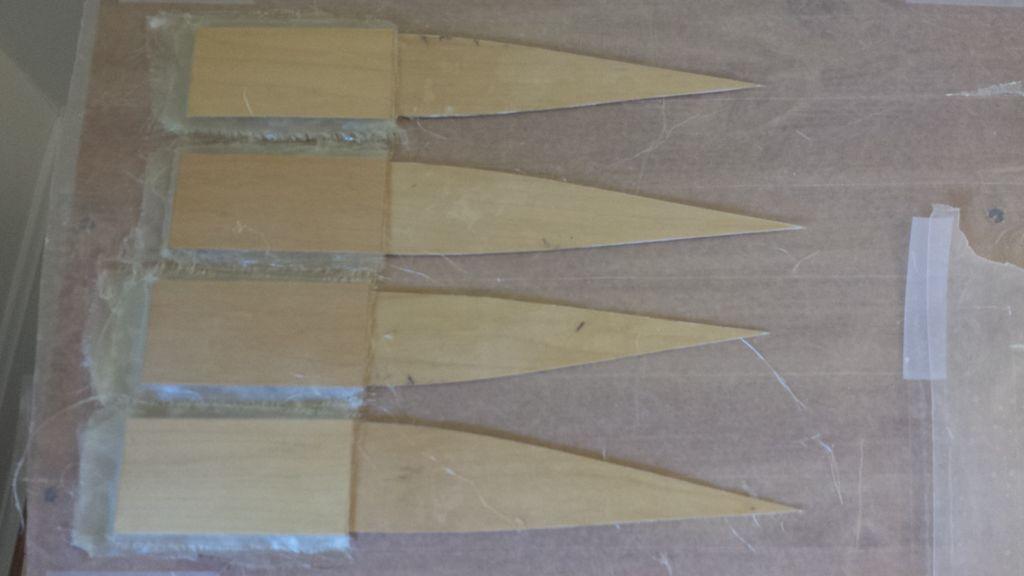 изготовление посадочных нервюр для авиамодели