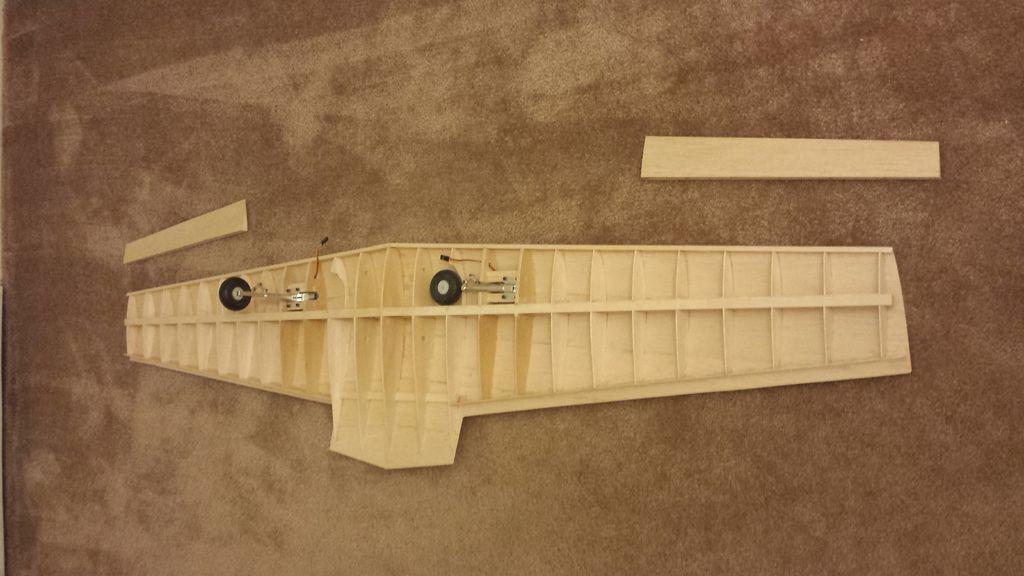 крыло rc авиамодели