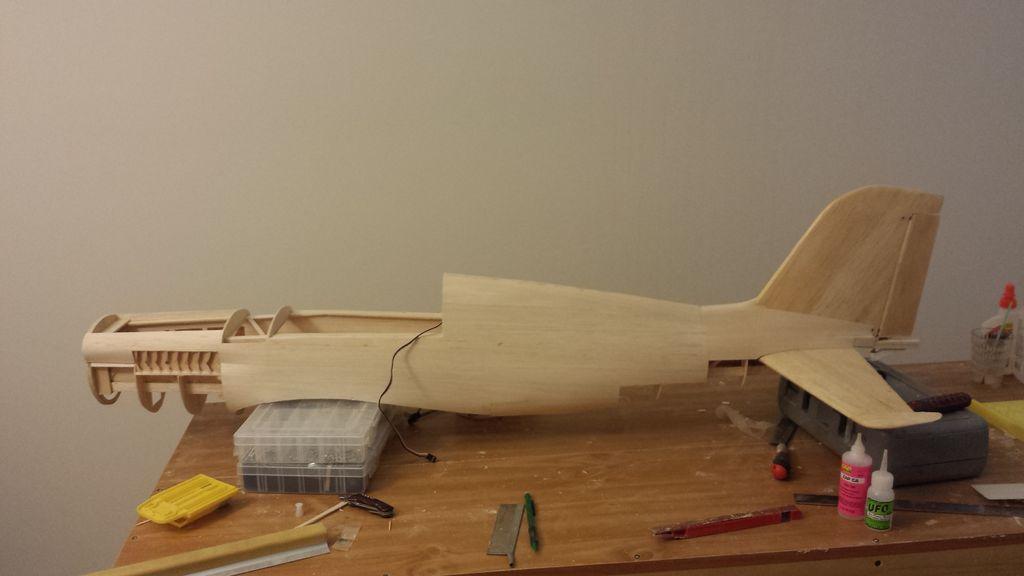 Изготовление фюзеляжа авиамодели