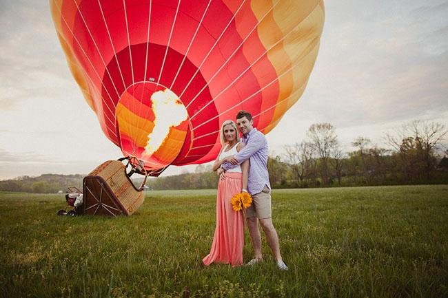 Как признаться в любви на воздушном шаре