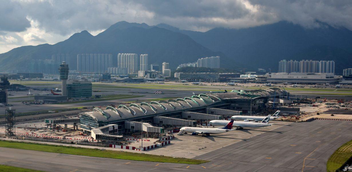 В аэропорту Гонконга установят новые терминалы