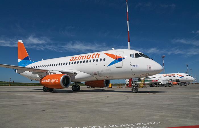 Azimut poletit iz Rostova v Astrahan s 1 maja