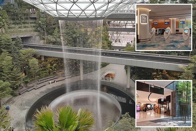 Сингапурский аэропорт: миллиард на новый комплекс с водопадом (ФОТО)