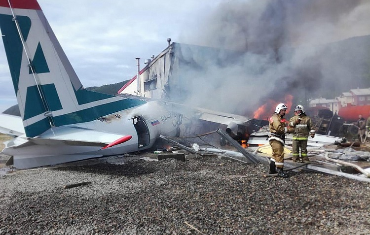 Ан-24 разбился в Бурятии — есть жертвы