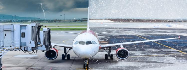 6 самых опасных погодных явлений в авиации