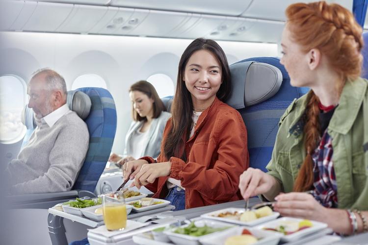 Passengers-eating