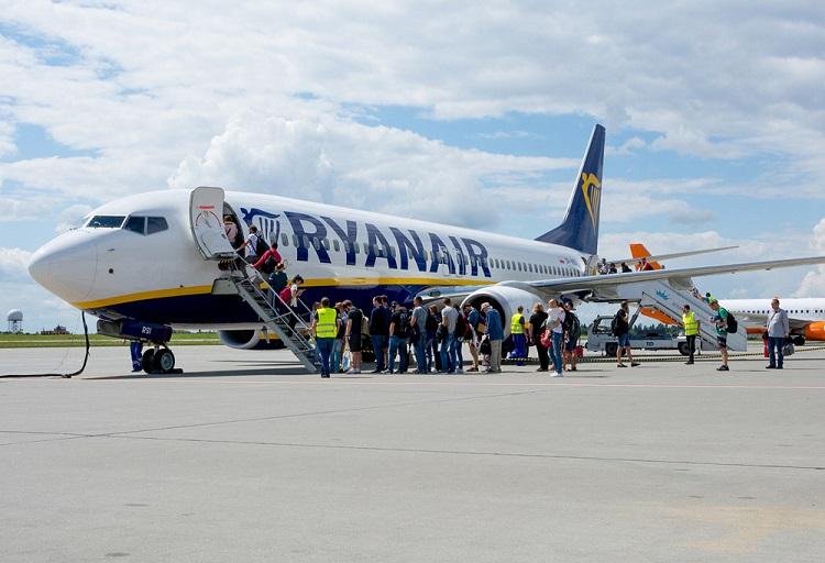 Ryanair vpervye poletit v Gruziju