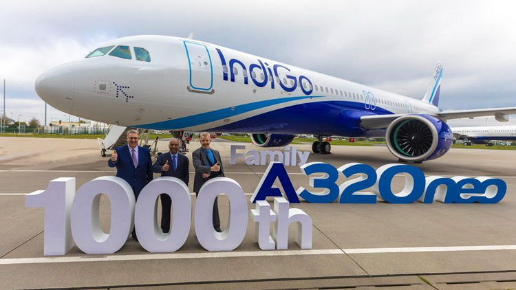 Лоукостер IndiGo заключил самый крупный контракт в истории Airbus