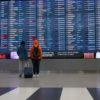 Московские аэропорты простаивают
